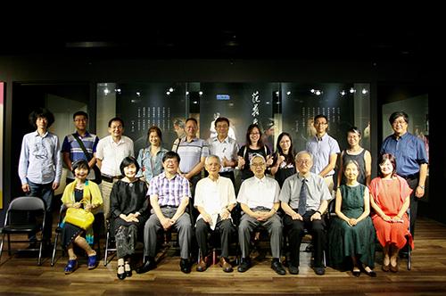 中央大學崑曲博物館「蓬萊新韻——臺灣新編崑劇特展」開幕,名家薈萃,呈現臺灣當代新編崑劇的多元美學。照片崑曲博物館提供
