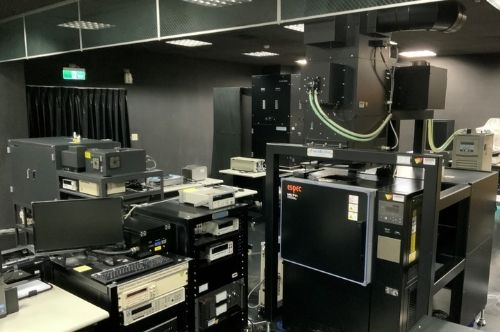 This photo is a part of the inside setup of PVEVL in NCU.